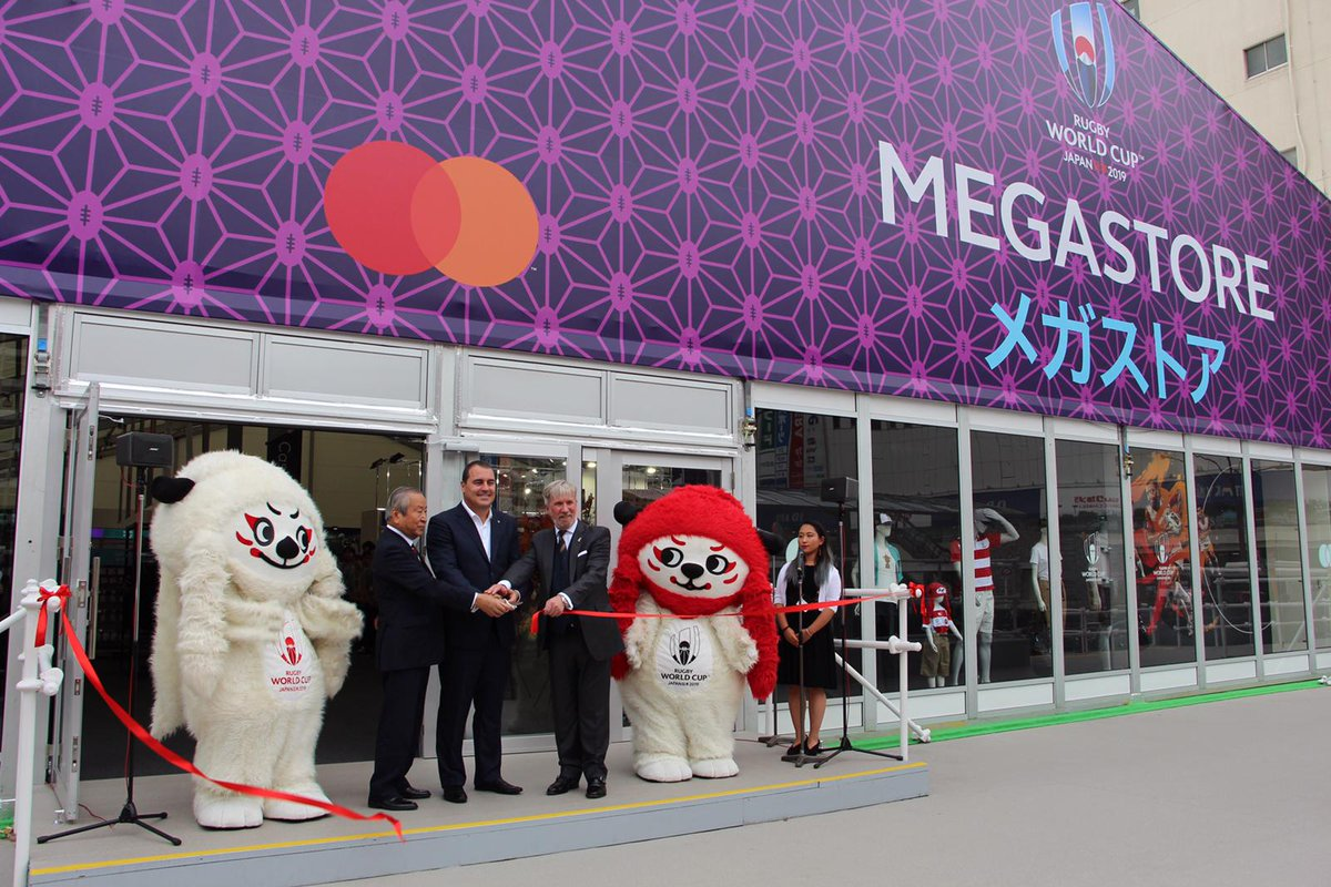 test Twitter Media - The Rugby World Cup 2019 Megastore is officially open!   Located just outside Shinjuku Station west exit in Tokyo, the Megastore is the perfect place to get your #RWC2019 merchandise https://t.co/LYdVr21rZX https://t.co/feTEXCfxUZ