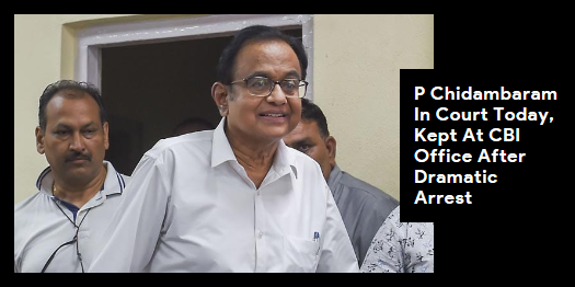 Lead story now on http://ndtv.comSources say #PChidambaram's questioning started this morning. Later, the CBI will take him to court and reportedly ask for maximum custody-14 days-for interrogation.Read here http://ndtv.com/india-news/p-chidambaram-inx-media-case-congress-leader-in-court-today-kept-at-cbi-office-after-dramatic-arrest-2088613…#NDTVLeadStory#INXMediaCase