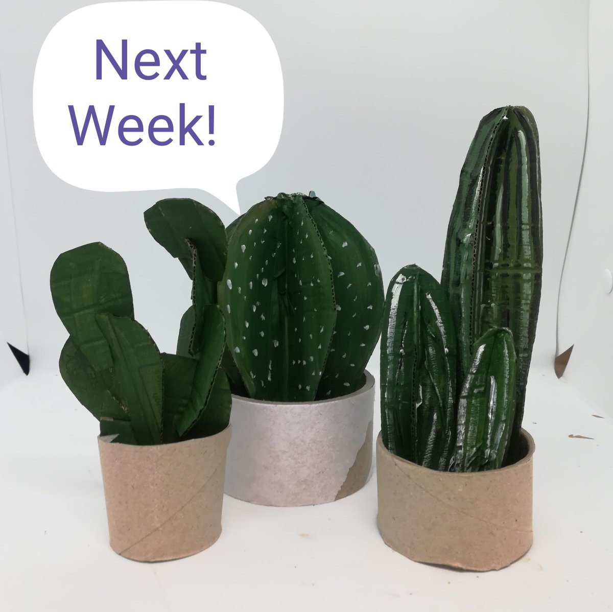Thanks to all who came to make a paper cone animal yesterday, our Wonderful Wednesday's continue next week when you can make your very own cactus – just a beautiful as the real ones but not as spikey!<br>http://pic.twitter.com/GDagN2bySP