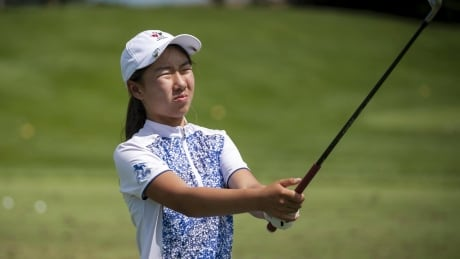 https://t.co/t77GIkY47j Vancouver's Michelle Liu, who is preparing to become the youngest golfer ever at the Canadian Women's Open that starts today in Aurora, Ont., spoke with CBC News on what she's looking forward to at her first big tournament. https://t.co/Hl5zLSO1EA