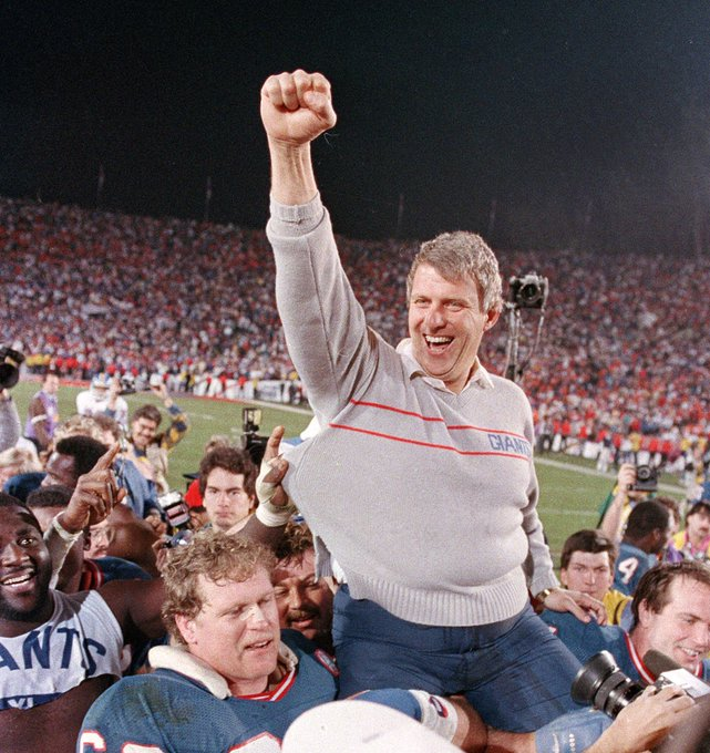 Happy birthday to Bill Parcells!