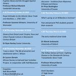 Image for the Tweet beginning: Our Wilberforce Institute Seminar Series