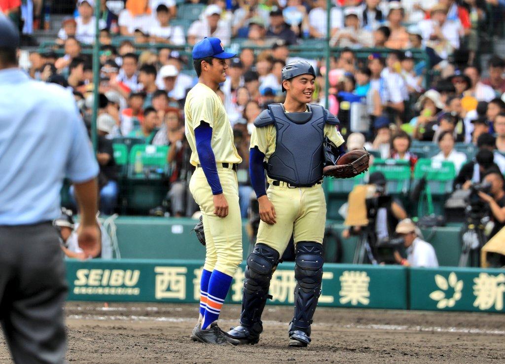 #必笑を絶対崩したくなかった 星稜・奥川恭伸「味方の逆転を信じていた。負けたけど、いいゲームができた。みんなでここまで来られたのでよかった。本当に楽しくて、最後にいい相手と試合ができてよかった。『必笑』を絶対崩したくなかった」(日刊)