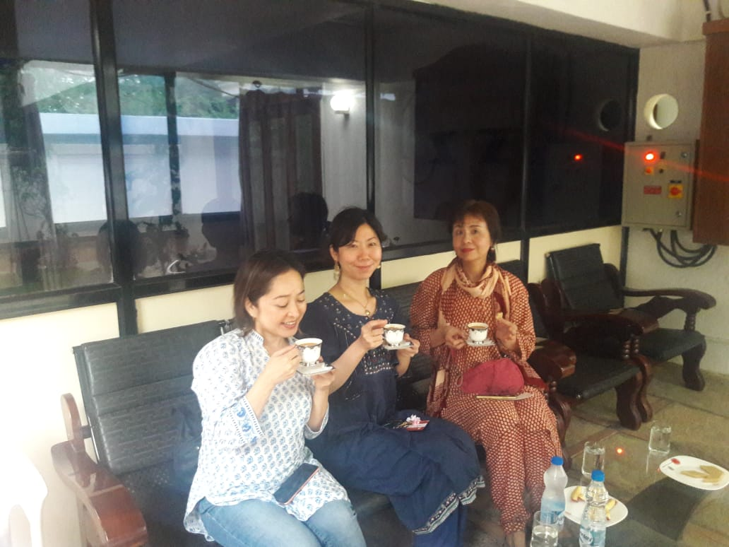 Fans from Japan at Darling #Prabhas house today.... <br>http://pic.twitter.com/Yj80A9LzUi