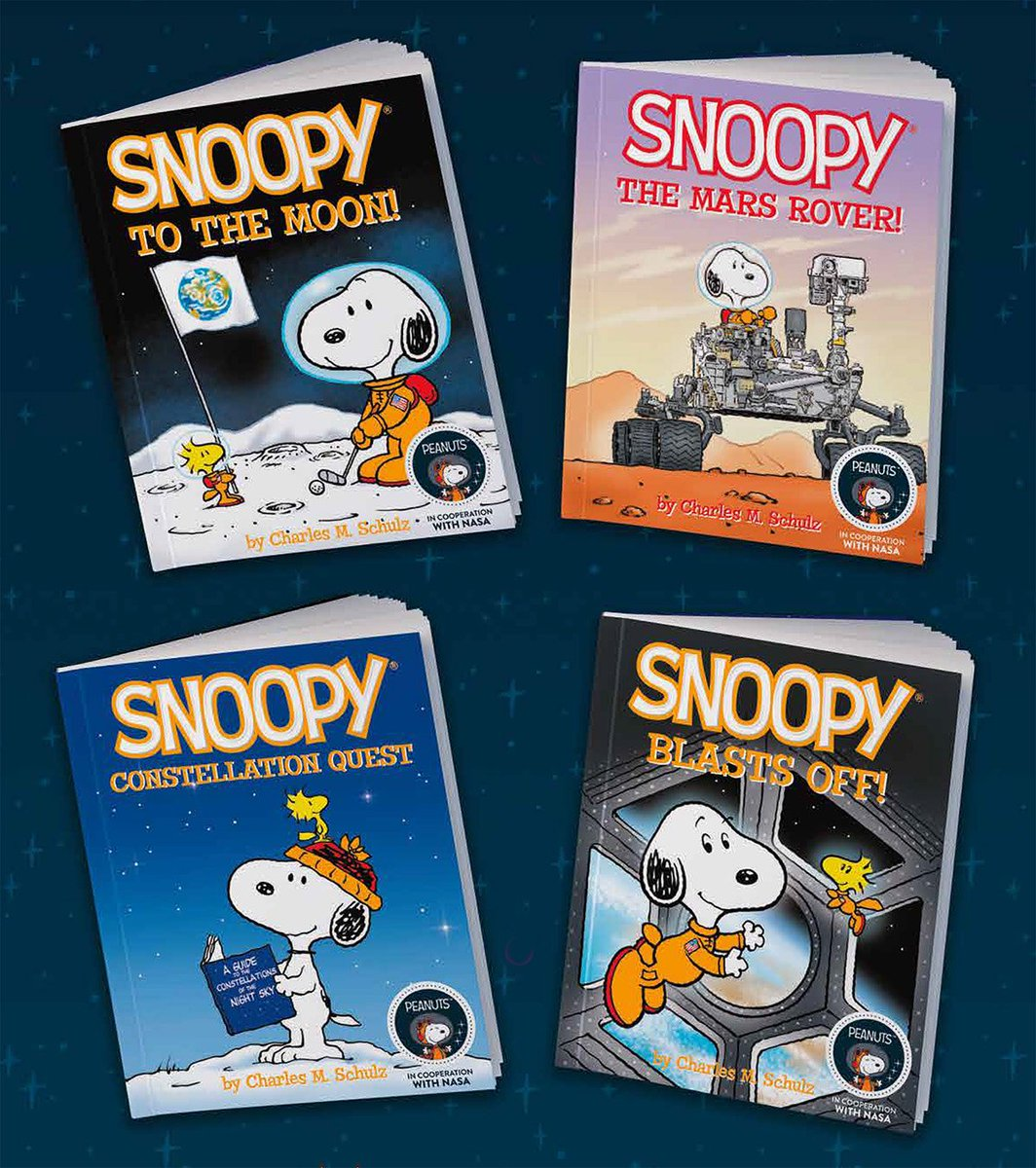 NASA and Snoopy. Name a better combination.   Beloved Peanuts Worldwide character, Snoopy, will spend 2019 decked out in space-themed attire to commemorate the 50th anniversary of Apollo's Moon landing.   :  https:// go.nasa.gov/2ZiOqqo     #Apollo50th <br>http://pic.twitter.com/aU2JFBucIr