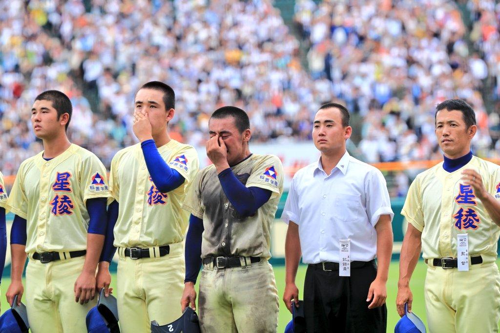 #星稜 林監督「日本一にはなれなかったが、奥川と山瀬は日本一のバッテリーだと思う。笑顔も見せていた…代打も考えたが、9回まで投げてほしいと思った。3年間よく成長してくれた。決勝の舞台に連れて来てもらい、感謝しかない。山瀬はチームをまとめてくれた。最後まで諦めない姿勢でよく頑張った」