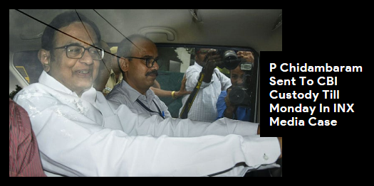 Lead story now on http://ndtv.com:CBI gets custody of P Chidambaram till Monday, family and lawyers allowed to visit daily for half an hour. https://www.ndtv.com/india-news/p-chidambaram-arrest-in-inx-media-case-live-updates-totally-vindictive-says-karti-chidambaram-2088595…#NDTVLeadStory #INXMediaCase #PChidambaram
