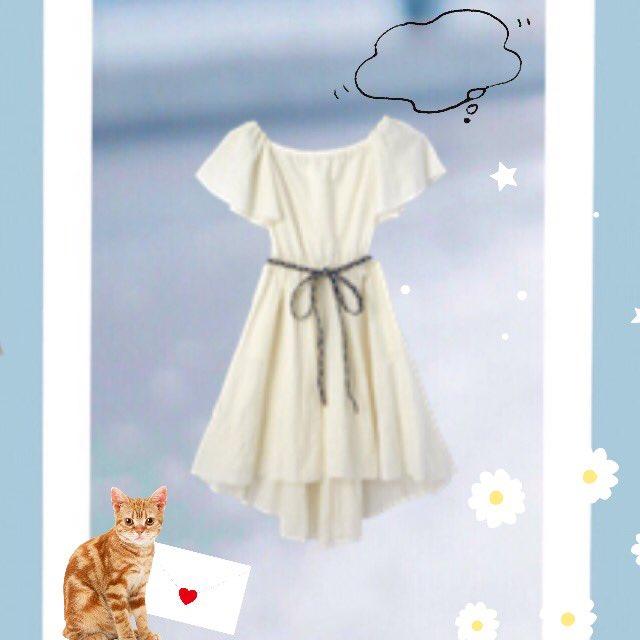 夏が終わりそうなのに…今年も着られなかったワンピースを見ていただけますか…こんなに可愛いのに…クローゼットに……