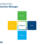 Image for the Tweet beginning: Prinect Production Manager covers the