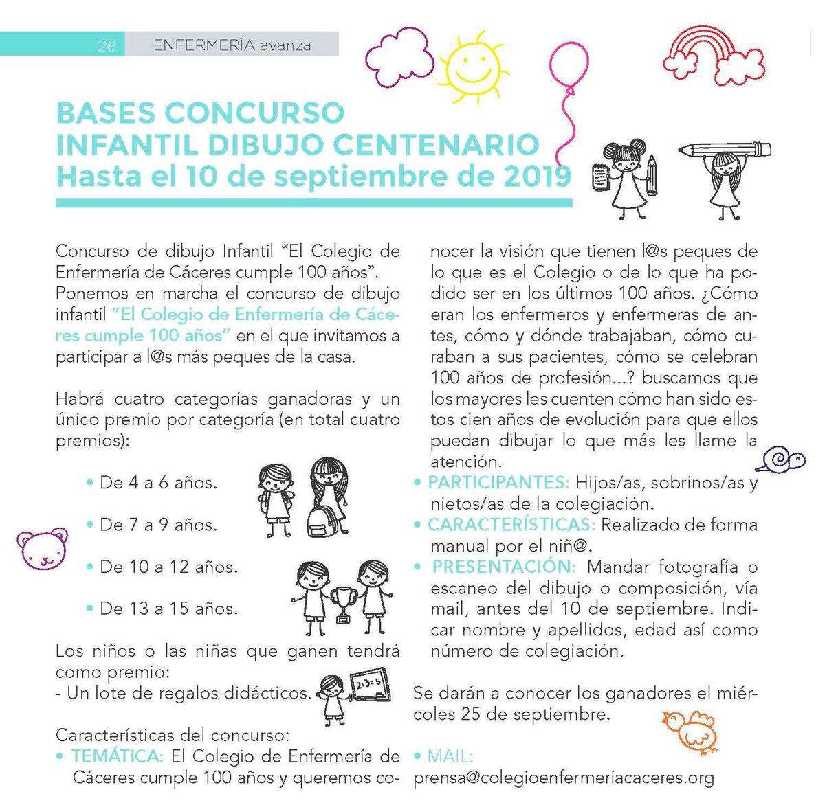 Os animamos a que vuestr@s peques participen en el Concurso Infantil de Dibujo del Centeario 😊🎨🖍💯