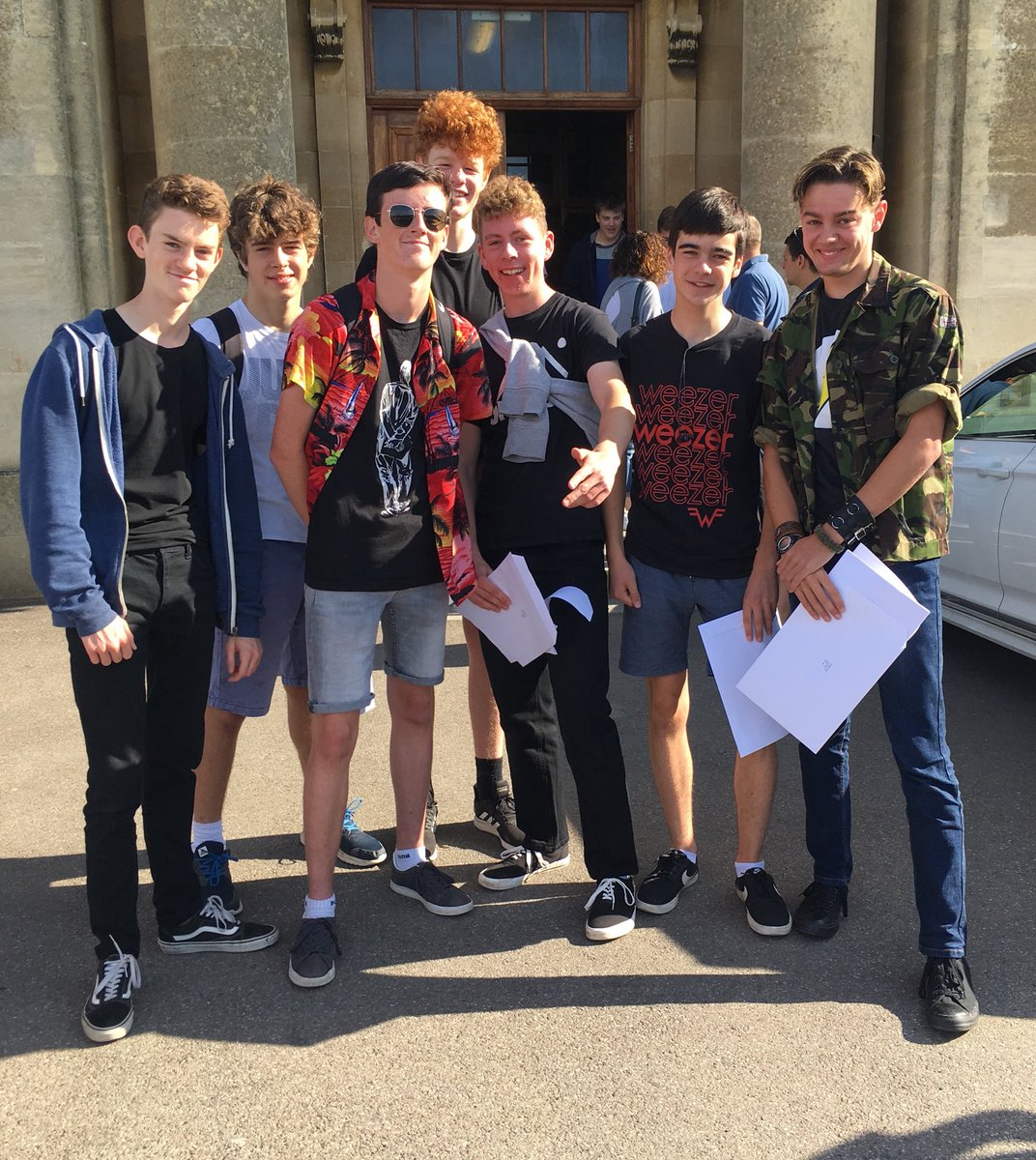 Very proud of our GCSE boys.  They have achieved great success; 82% awarded both English and Maths at higher grade passes, 52% the EBacc qualification.  Well done to all pupils, parents and staff for their commitment to the cause.