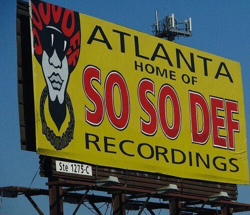 The first billboard that greeted me when I moved to Atlanta! #ThrowbackThursday #TBT