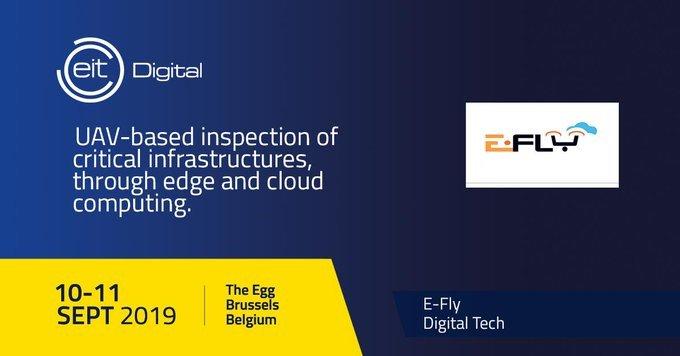 Del 10 al 11 de Septiembre visita el booth de #EFLY en la Conferencia...