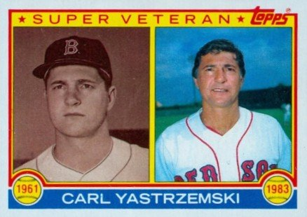 Happy 80th birthday to legend and Hall of Famer Carl Yastrzemski. Which is your favorite Yaz baseball card?