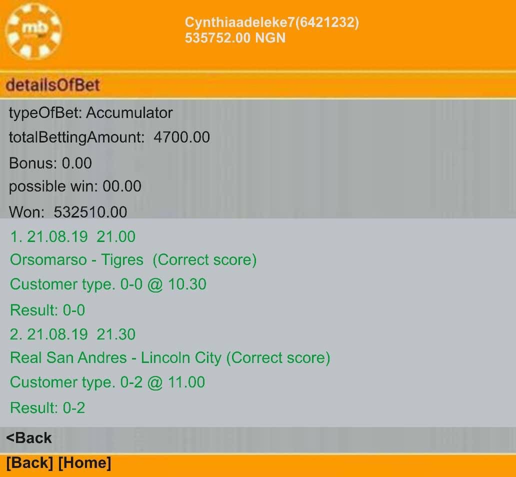 Congratulations to our amiable subscribers you guys are the best , if you are interested in getting fixed odds contact our admin on WhatsApp +2347032706576 , a trial will convince you we are the best.... still have more ticket contact us today https://t.co/DincExfOfz
