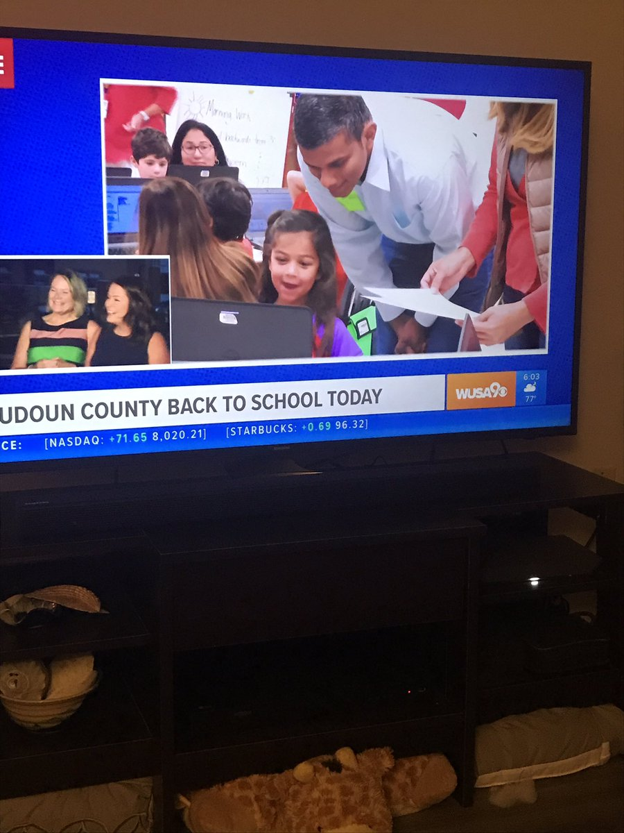 Loved seeing Meadowland friends on @GetUpDC this morning! Happy First Day!! @MeadowlandElem #fearlessmustangs #LCPS1stDay<br>http://pic.twitter.com/BZjXz7sAVx