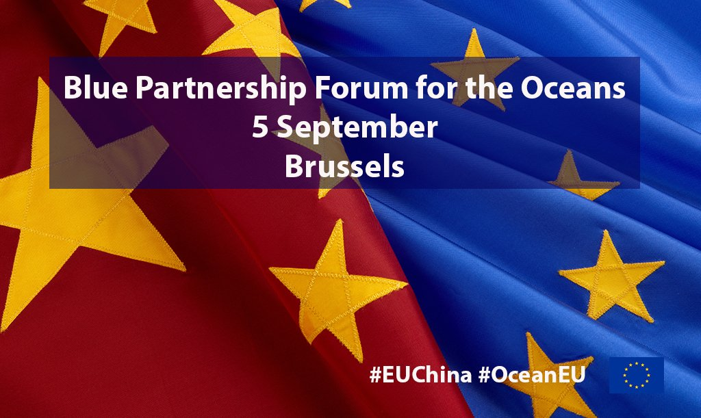 The challenges faced by our #ocean are global, strong partnerships are needed. The 1st 🇪🇺🇨🇳 Blue Partnership Forum for the #oceans opens a roundtable discussion on future joint actions. #EUChina #OceanEU Register 👉https://en.xing-events.com/OIIUVAW.html?mode=guestView&page=1827464…@ChinaEUMission @FCCC52833247 @eu_eeas