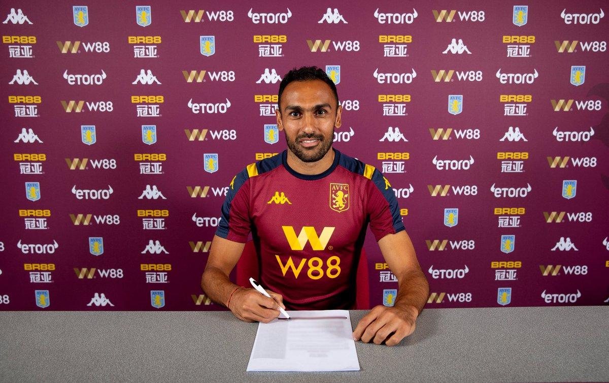 Aston Villa : Elmohamady prolonge jusqu'en 2021 (Officiel)