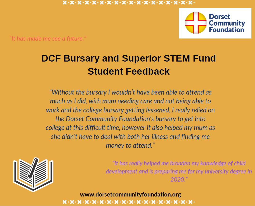 test Twitter Media - Good luck to students receiving GCSE results today!DCF Bursary and Superior STEM Funds are now open for applications and bursaries of up to £1,500 are available https://t.co/IBfZK0LFMI @Bournemouthecho https://t.co/hqq36PJVOb