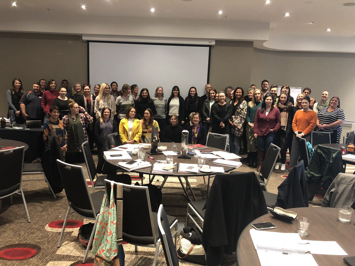"""An incredible 3 days with this lot at the Melbourne workshops on Aboriginal MH & Suicide Prevention. What a combination of skills & personalities in 1 room! From WA, SA, NT, QLD, NSW & of Victoria - a great bunch! And a special shout out to my """"favourite four"""" #BuildAnArmy <br>http://pic.twitter.com/4AhO1oxGdG"""