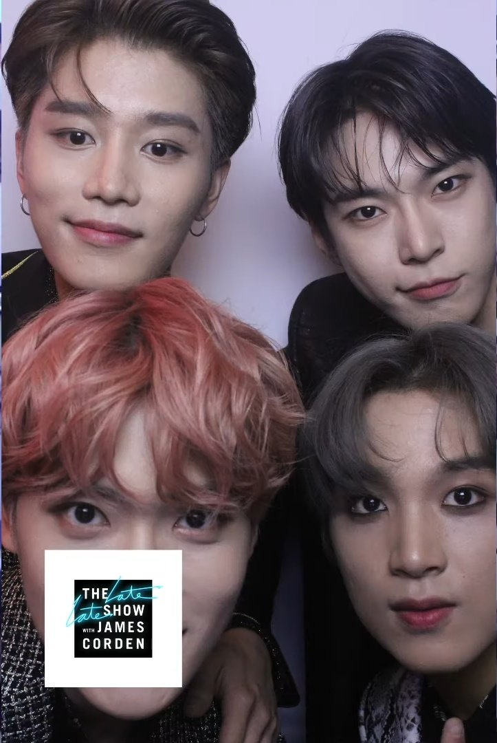190822 (190515) The Late Late Show Photo Booth Montage: Year 4 | NCT 127 youtu.be/-Dlr6buQYzo (3:08) @NCTsmtown @NCTsmtown_127