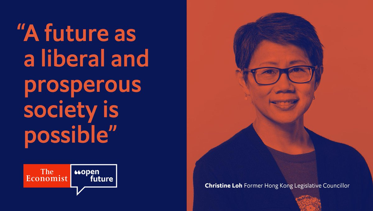 """Beijing authorities have not done enough to cultivate Hong Kong's """"political middle,"""" argues Christine Loh, a former member of the territory's Legislative Council, in the first of our #OpenFuture series on Hong Kong https://econ.st/31SQL9a"""