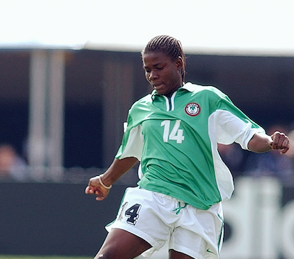 We are sad to announce the sudden demise of former @NGSuper_Falcons player Ifeanyichukwu Chiejine who passed on after a brief illness on Wednesday, 21st August 2019. Ifeanyi captained the first set of the U19 National Women's team to the first U19 (Now U20) @FIFAWWC in 2002<br>http://pic.twitter.com/5SrlZwRROX