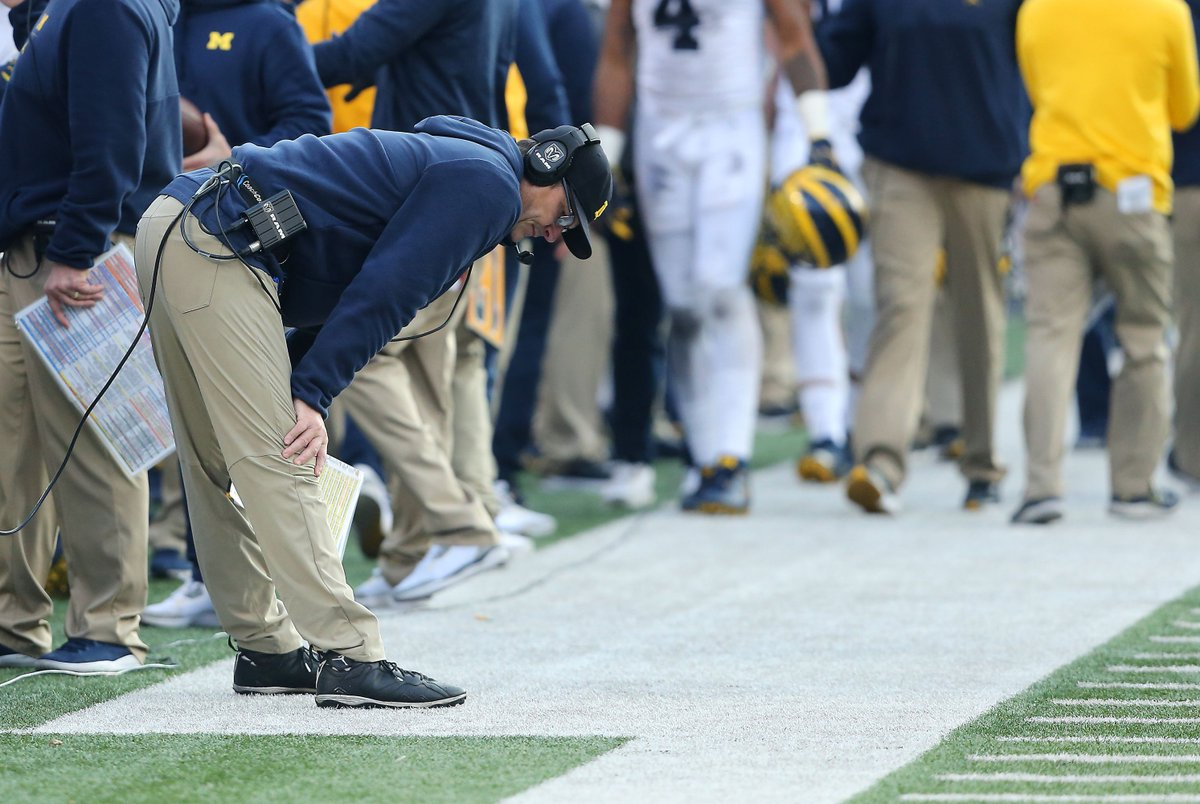 This morning's Daily Brews:  - More Jim Harbaugh transfer drama - Season tickets hit high mark for Harbaugh era - Woodson chimes in on 2018's ending - Tate Martell is taking a swing with new position groups at The U  Read here: https://t.co/Rq7aYoSBvx https://t.co/uj2MxD2Imc