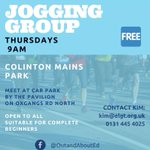 Image for the Tweet beginning: Our Oxgangs beginner's jogging group