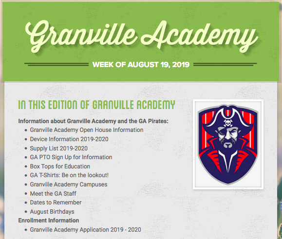 Granville Academy - @GranAcademyNC Twitter Profile and