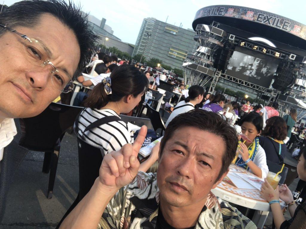 居酒屋EXILEにて翔平探し翔平パパさんと一緒に#浦川翔平#居酒屋EXILE#THERAMPAGE