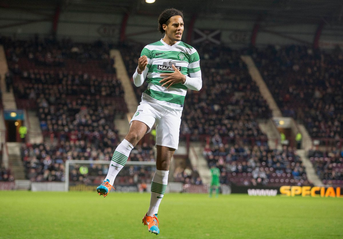 Virgil van Dijk on his time at Celtic: I enjoyed every bit of it. It was a fantastic step for me outside the pitch but inside the pitch, as well. I made so much progress over there, with and without the ball.