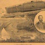 Image for the Tweet beginning: #Monturiol200anys Entre 1857 i 1868