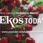 Image for the Tweet beginning: ¡Inicia este jueves con #EkosToday!