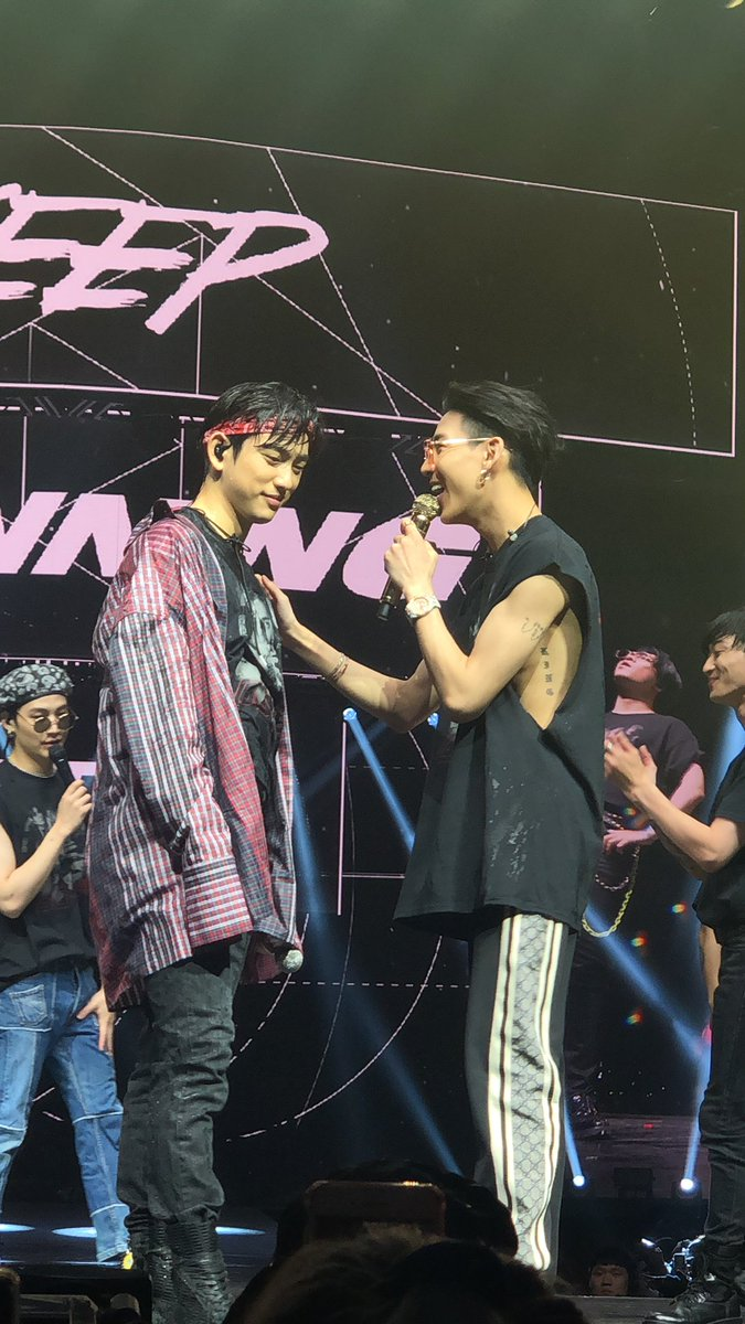 bam laughing at wet jinyoung <br>http://pic.twitter.com/fRosuy7GiE