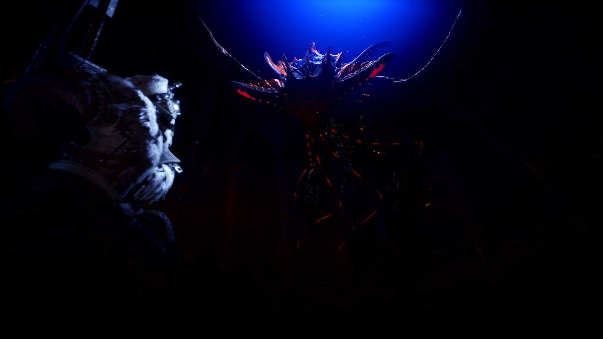 「謎のモンスター!?」古龍がテーマのひとつにもなっている『モンスターハンター:ワールド』新作の『モンスターハンターワールド:アイスボーン』では、初登場のモンスターとして水を使う古龍「ネロミェール」が登場。ご期待ください! #MHWアイスボーン