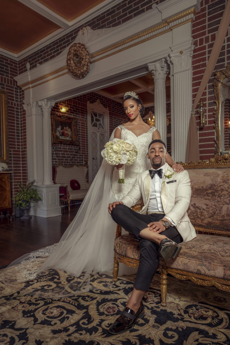 From college sweethearts to life partners. Rachel and Kornelius Bascombe met at a college pep rally and have been insperable ever since. #BridalBliss ow.ly/kWcr50vF1H2