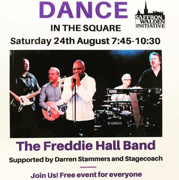 Its the annual Dance in the Square this Saturday 24th August here in Saffron Walden. What you need to know.... Its Fun, Its Free, and Its a Great Night !! Refreshments, Bar and Hog Roast available too.... #saffronwalden #localcommunity #swinitiative<br>http://pic.twitter.com/OuCFHuzR3b