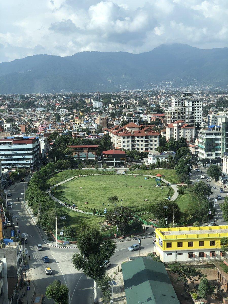 Kathmandu from top!