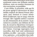 Image for the Tweet beginning: Dans le @MondedesLivres qui paraît