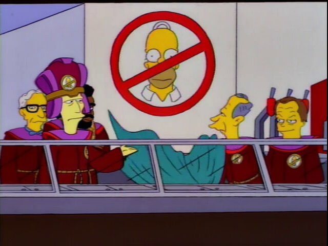 """""""Silence. I now call to order the first meeting of the ancient mystic society of...No Homers."""""""