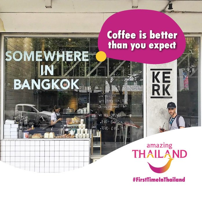 #FirstTimeinThailand Thailand has had significant growth within their coffee industry over the past 30 years, and may soon be commonly known around the world for their unique approach to coffee production. #grindstonerunaways #amazingthailandpic.twitter.com/Ui0mWkQsko