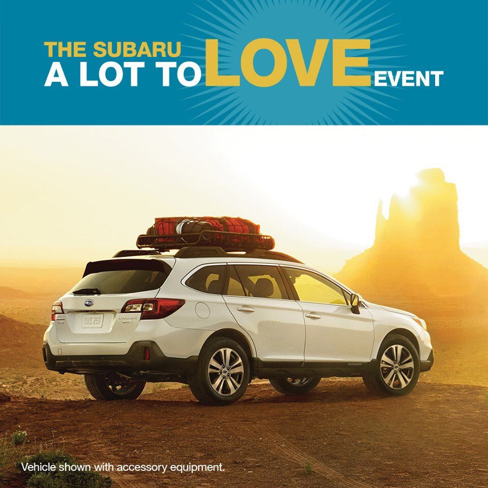 Subaru 0 Financing >> Find Your New Subaru Outback Here The A Lot To Love Event