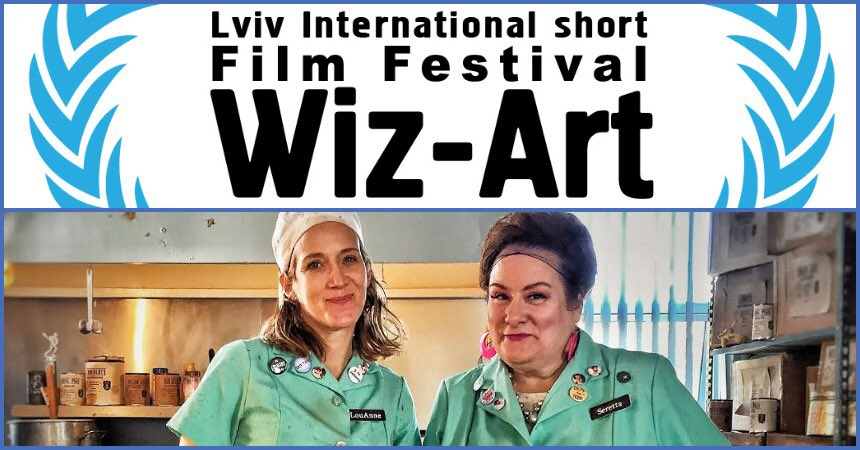 Come on down tomorrow, Fri. August 23 at 10pm to see us hang out with Ukrainians for the Sweet Dreams! Horror Shorts at the Wiz-Art Fest!  Dare to try our potato dumplings? #lviv #ukraine #dumplings #lunchladiesfilm  #lunchladies  Screening in the Red Hall at Kinopalace Lvivpic.twitter.com/qBtfpvlXNZ