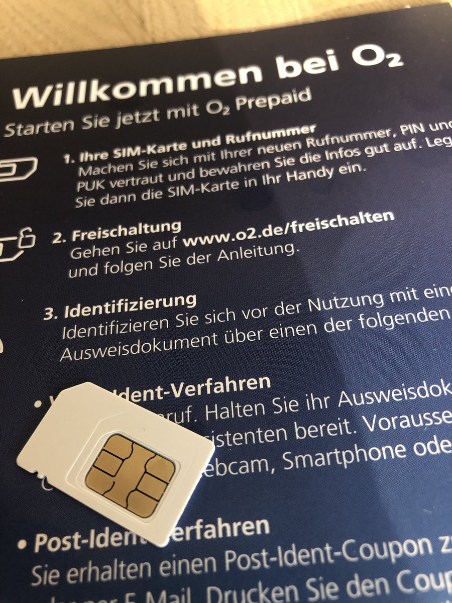 O2 De Willkommen Sim Karte Aktivieren.Johanna Uhl On Twitter Schoooon