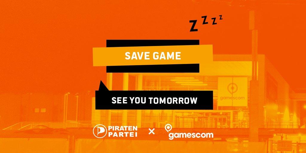 Spielmenu Save Game See you tomorrow