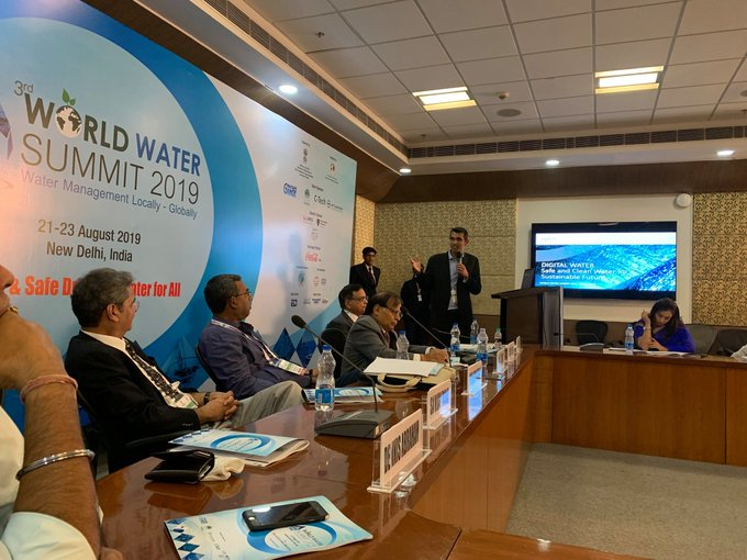 Xylem is at the World Water Summit 2019 talking about