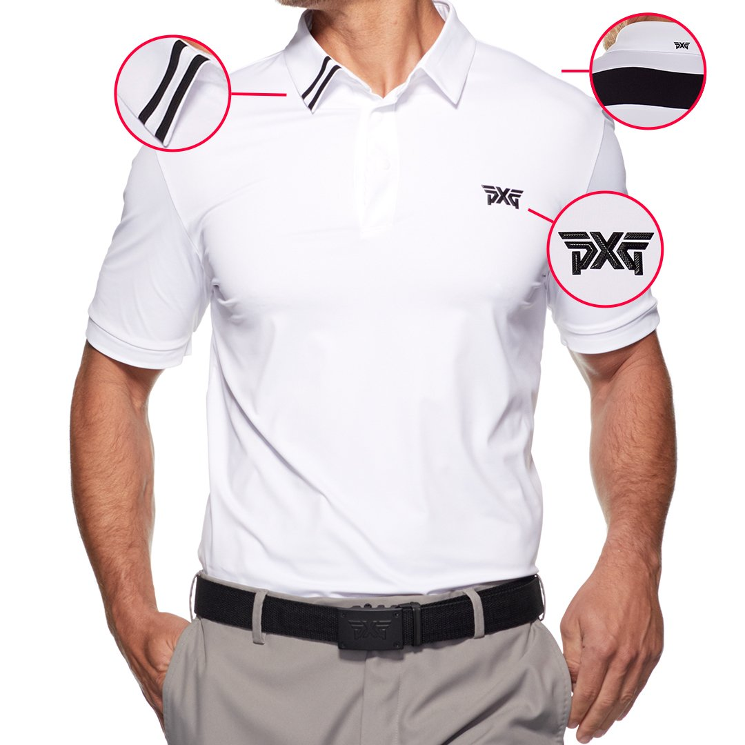 Clean, subtle and detailed. The #PXG Men's Back Point Polo will have you looking PXG sharp before, during and after your round. Tap  http:// bit.ly/PXGBackPoint      to add one to your closet. #PXGApparel<br>http://pic.twitter.com/EhbytaTkuY