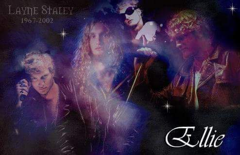 Happy heavenly 52nd Birthday to this beautiful soul  Layne Staley x