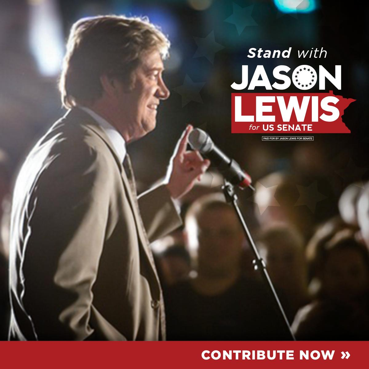 "I'm not doing politics as usual, I will speak from the heart. While radical political movements attack our values, I'm going to fight back in the US Senate. Help me fight back against the ""resistance"" by making an urgent contribution >  https:// lewisformn.ichooseapex.com/donate?EVI=fb- announce   … <br>http://pic.twitter.com/xqzaqclejs"